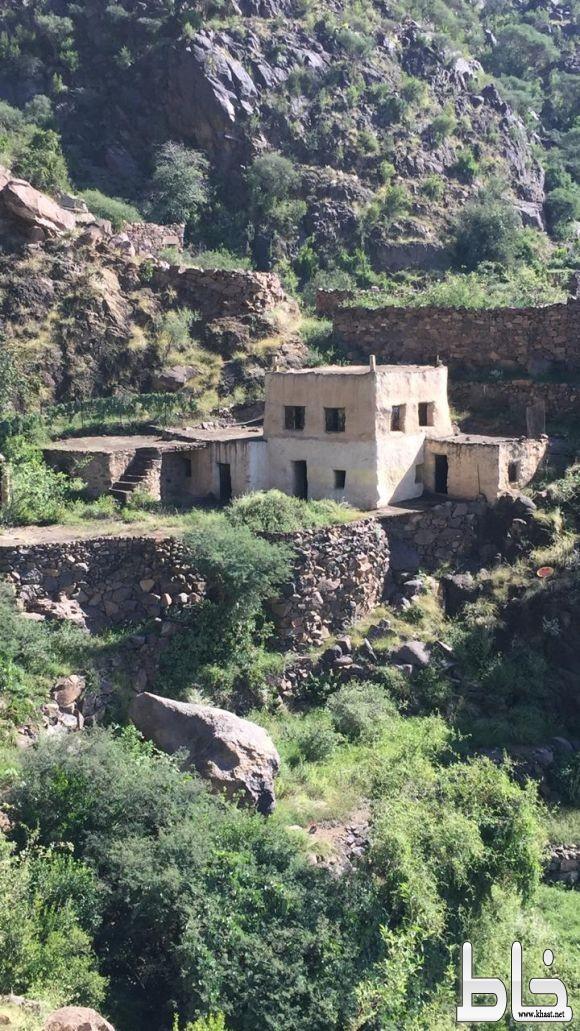 مناظر طبيعية من قرية بطحاء بني حسين آل مبارك بني شهر