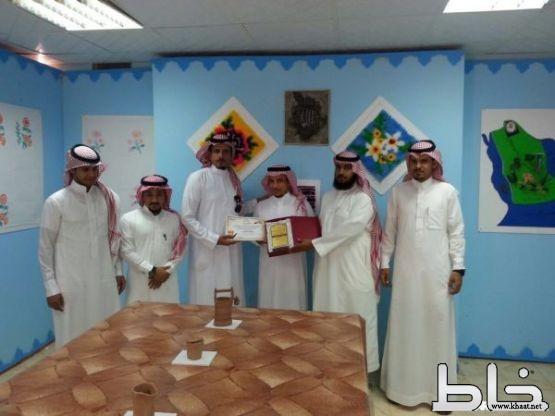 افتتاح معرض التربية الفنية بعمار بن ياسر