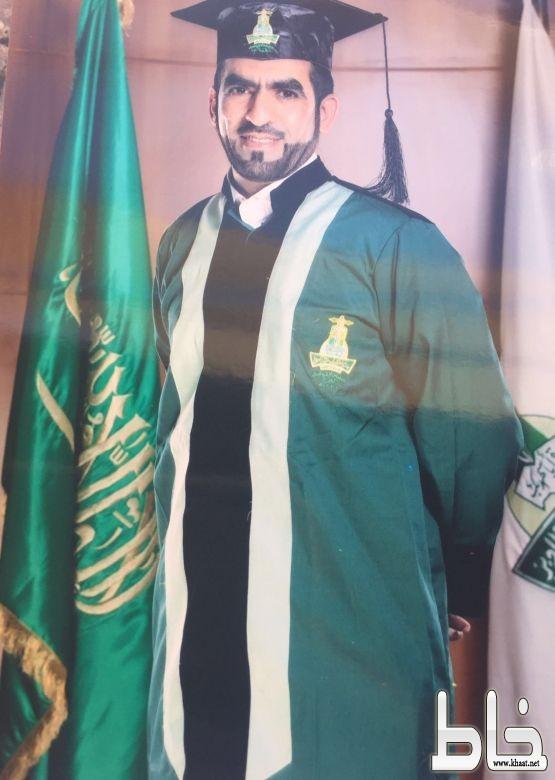 عبدالله السبيعي يحصل على بكالوريوس الخدمة الاجتماعية الطبية من جامعة المؤسس