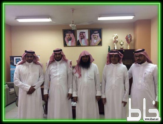 قائد مدرسة الملك عبدالله بن عبدالعزيز في ضيافة مدرسة جابر بن حيّان