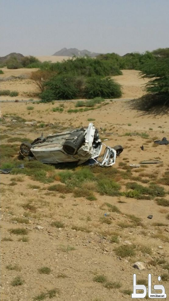 مصرع شابين وإصابة اخر في حادث تصادم  بمركز جمعة ربيعة