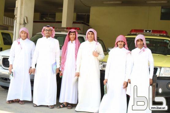 ثانوية جابر بن حيان تشارك في معرض الدفاع المدني بمناسبة اليوم العالمي