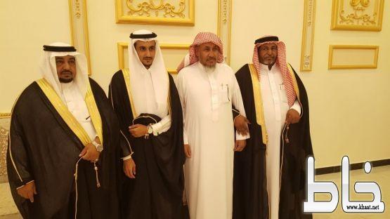 رجل الأعمال ابراهيم شبير يحتفل بزواج ابنه عبدالله وقبيلة المهاملة وقضريمة بمحافظة بارق يكرمون 46 متميزاً