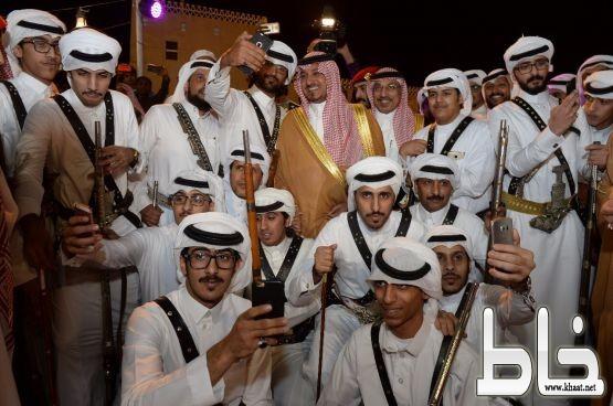 الأمير منصور بن مقرن يفتتح فعاليات قرية عسير التراثية بالسودة