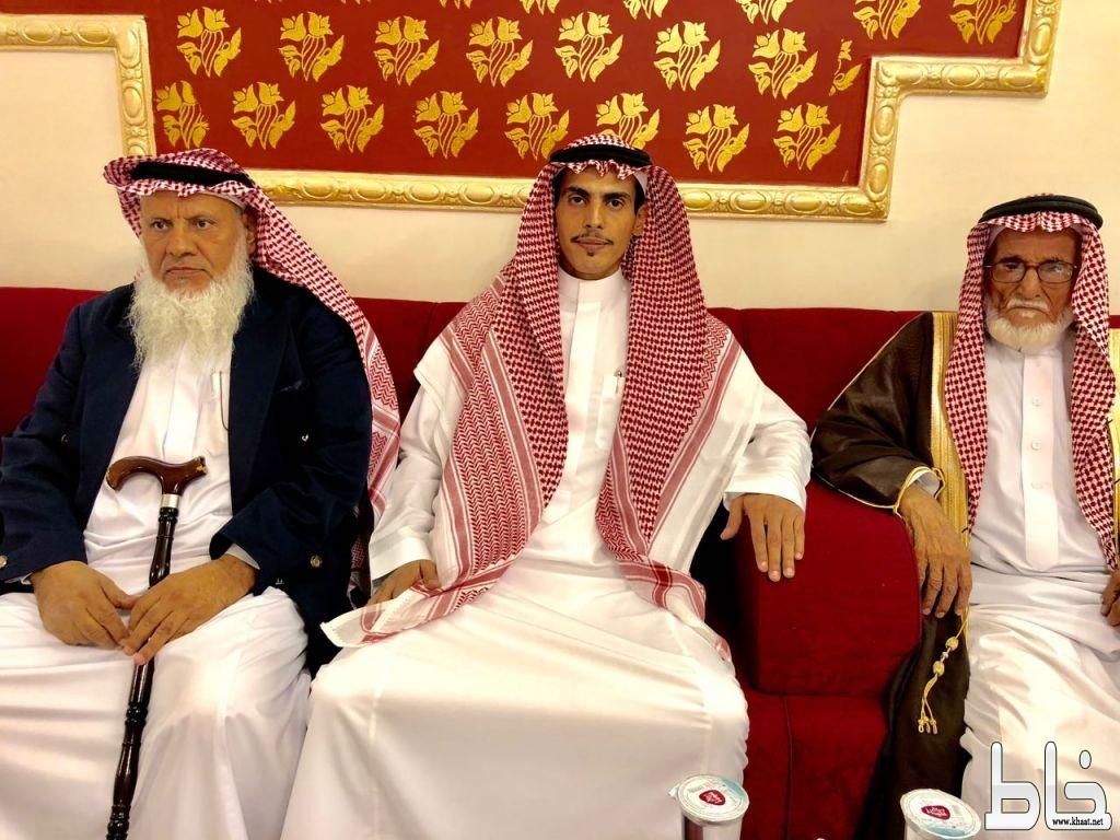 عقد قران  الاستاذ عبدالله بن عايض الشهري على كريمة /فيصل عبدالله ال نظيف التركي