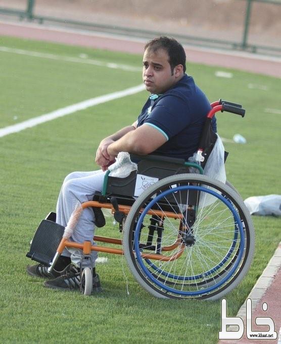 محمد العمري من ذوي الأحتياجات الخاصة يحقق بطولة تبوك لأندية الأحياء ويتأهل للنهائيات بجدة