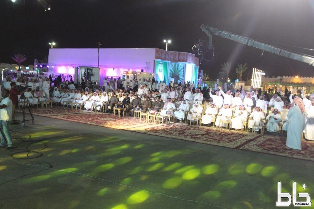 """انطلاق أول أمسية شعرية بـ""""بمهرجان صفري #بيشة """" وسط حضور غفير"""