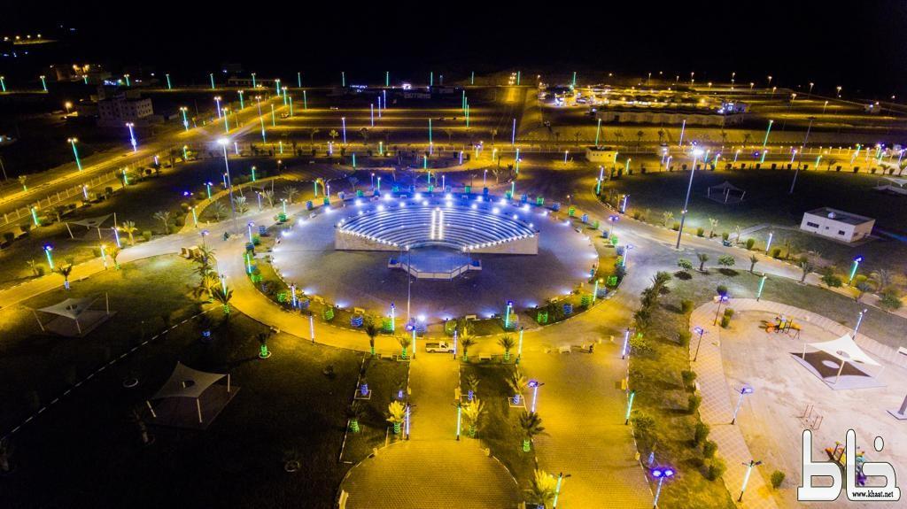 بلدية محايل تكمل استعداداتها للاحتفال باليوم الوطني