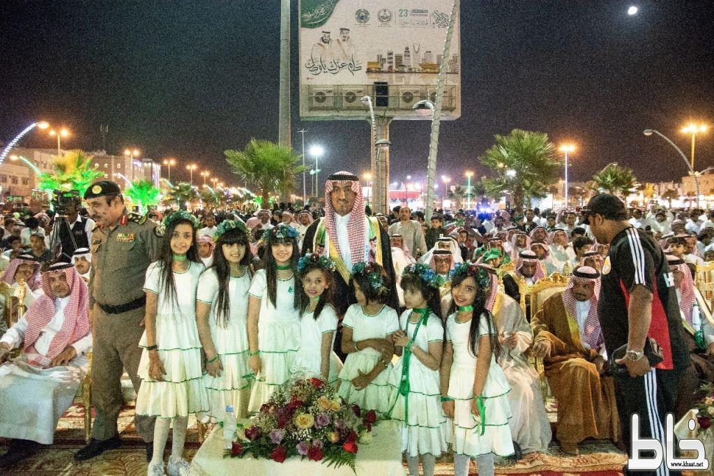 محافظ خميس مشيط يرعى إحتفال أهالي المحافظة بمناسبة الذكرى ٨٨ لتوحيد المملكة