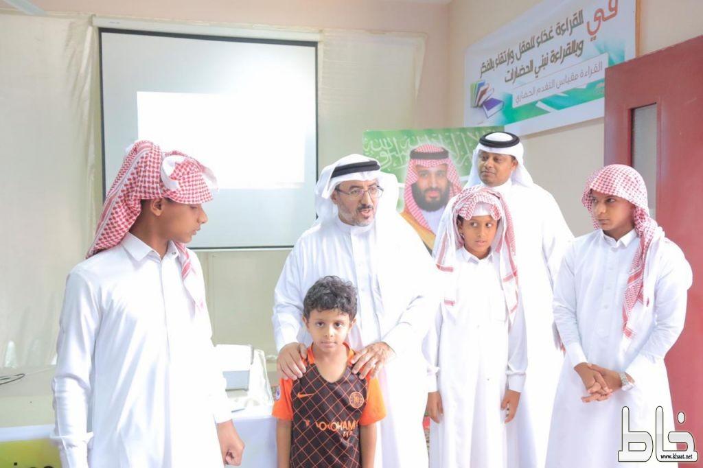 آل شريم يدشن مبادرة (الباص الذكي) بابتدائية جعفر ومتوسطة النووي في بارق
