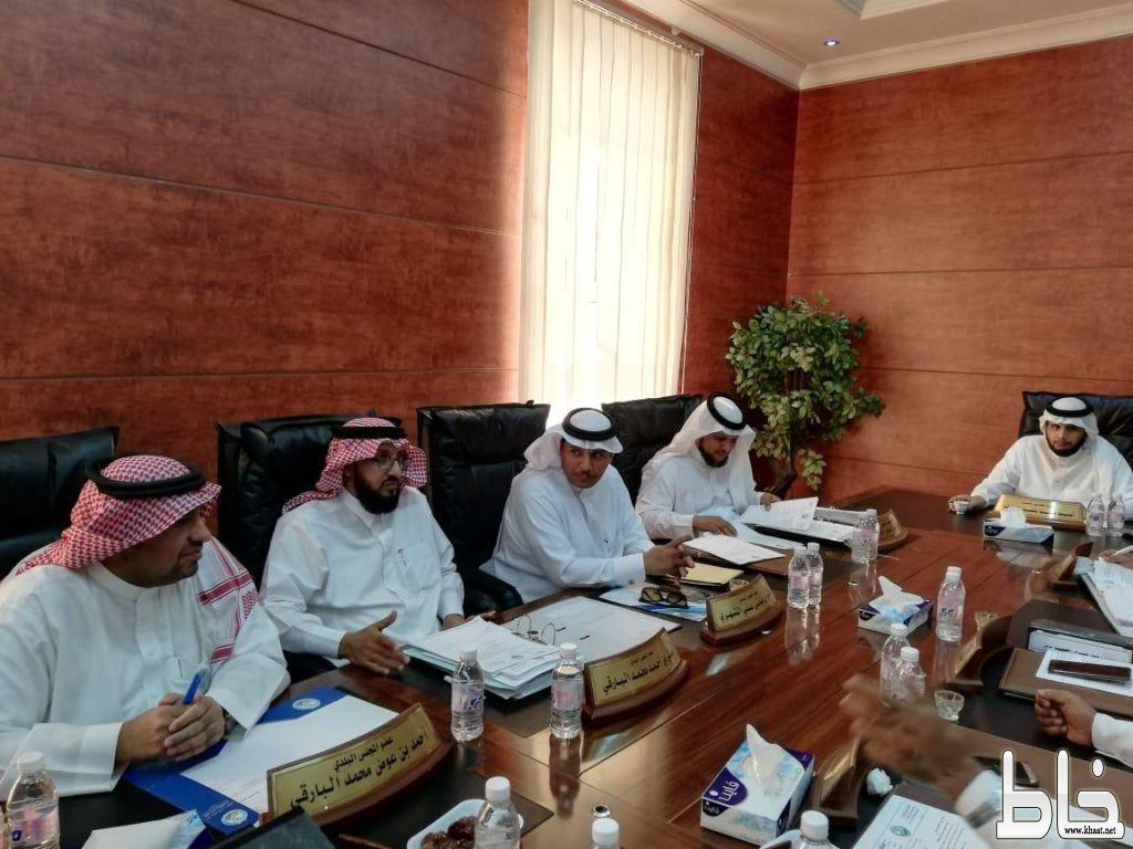 بلدي بارق يعقد جلسته الـ41 و يقر مبادرات جديدة لتحسين المشهد الحضري