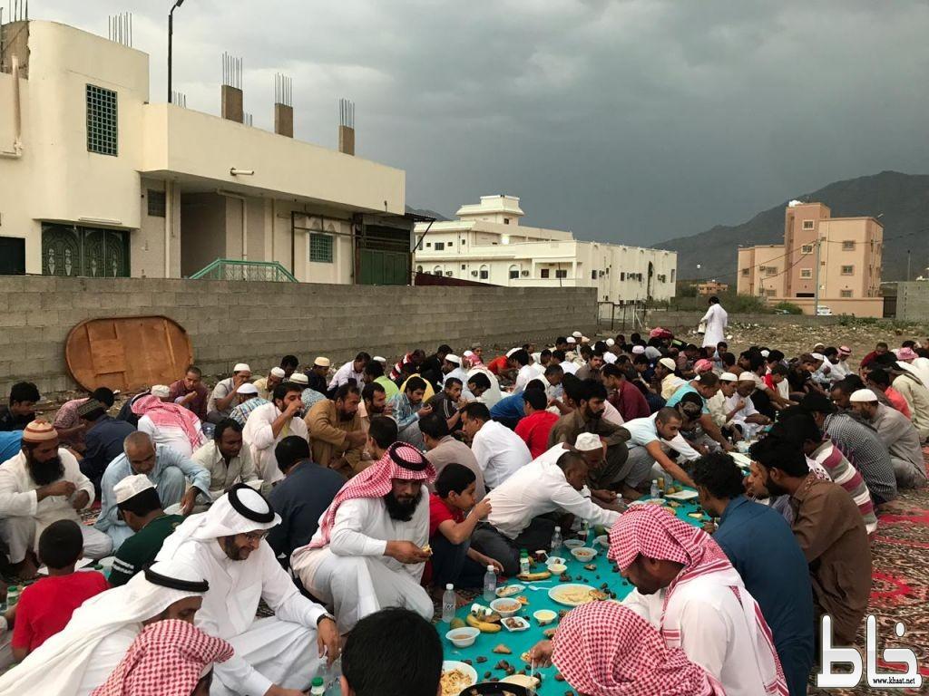 الإفطار السنوي الكبير لأهالي مركز ختبة وجالياته بحضور رئيس مركز ختبة