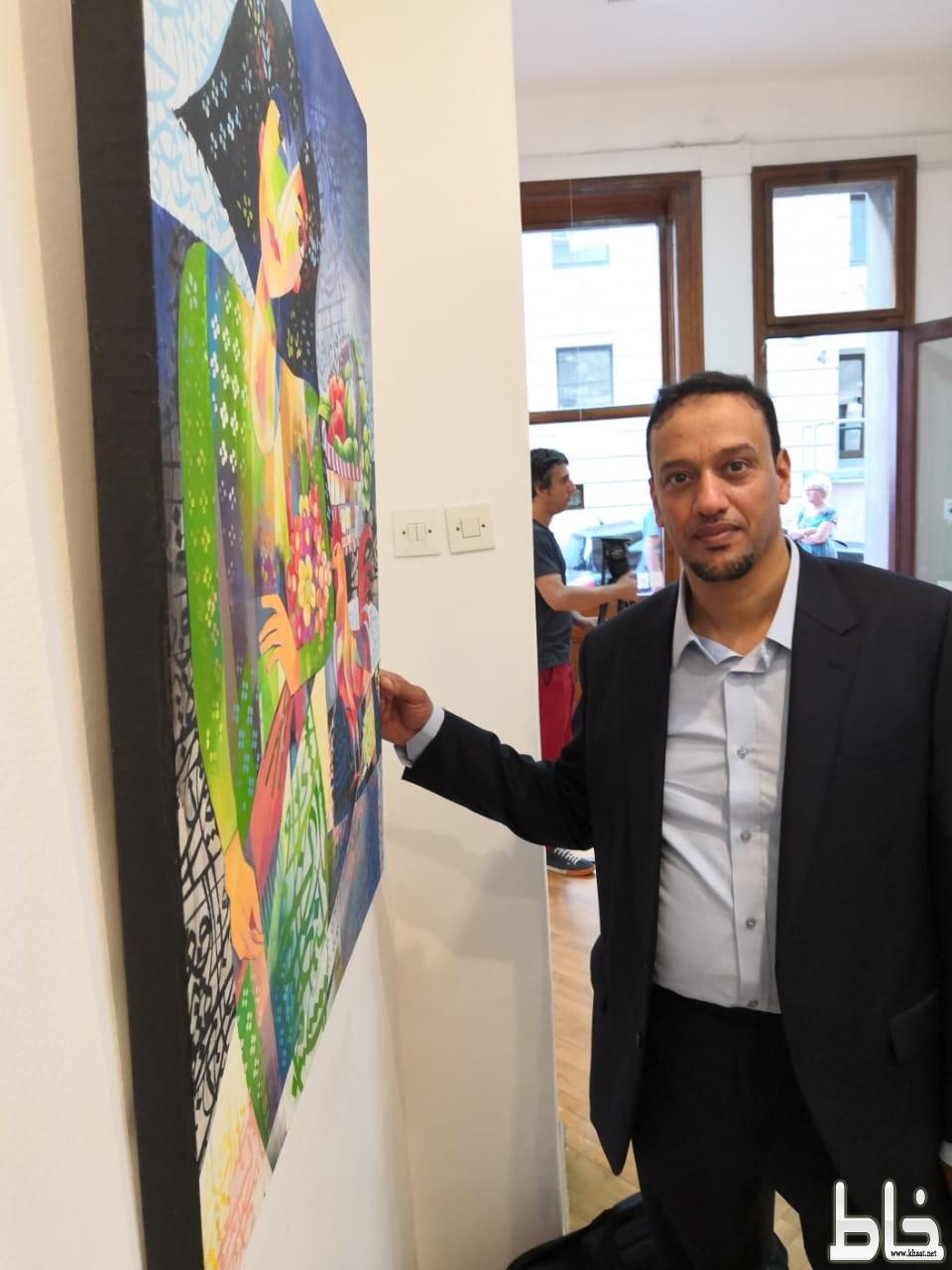 الفنان سامي البار يمثل المملكة في معرض بالمتحف الوطني بصربيا