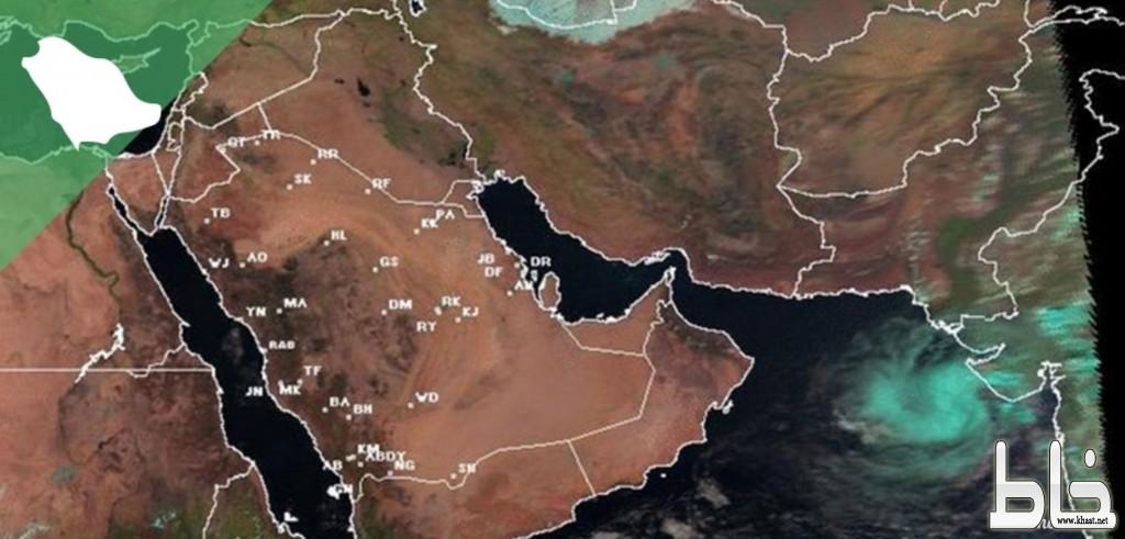 الزعاق: العاصفة «مها» في بحر العرب وتحاول سلوك نفس مسار «كيار»