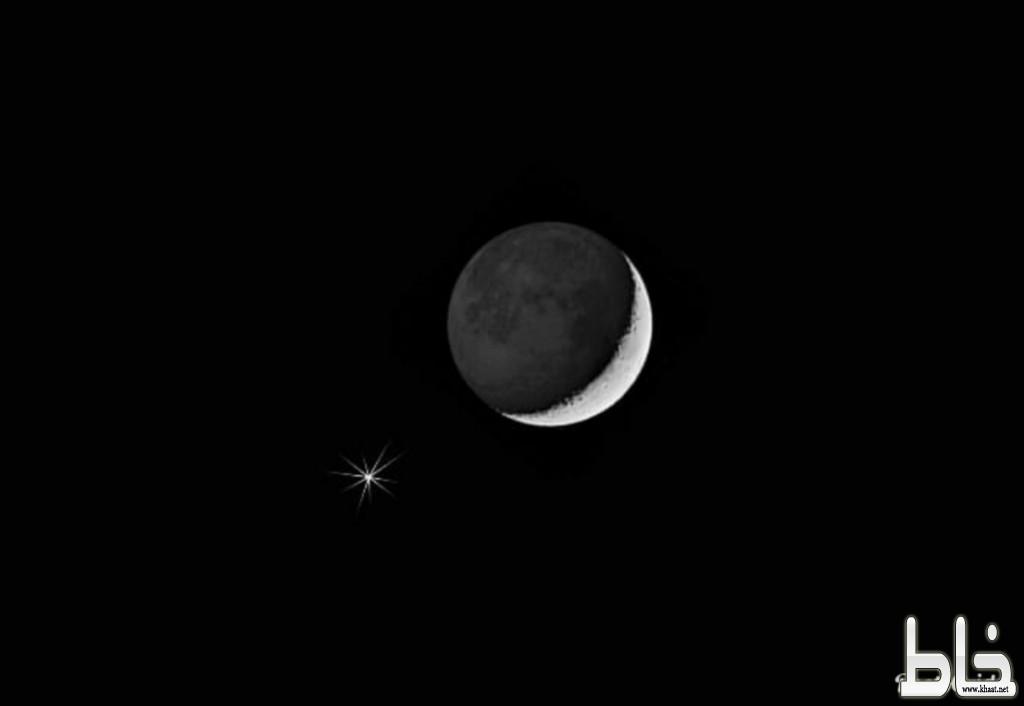 الليلة .. اقتران رائع بين القمر والمشتري