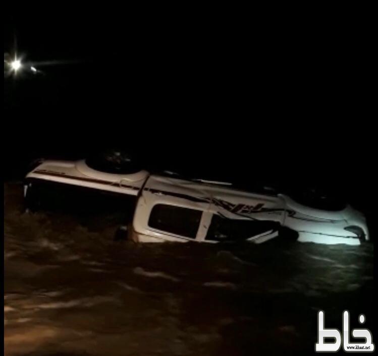 وفاة مواطن جرفت السيول مركبته بمركز خميس حرب شرق القنفذة