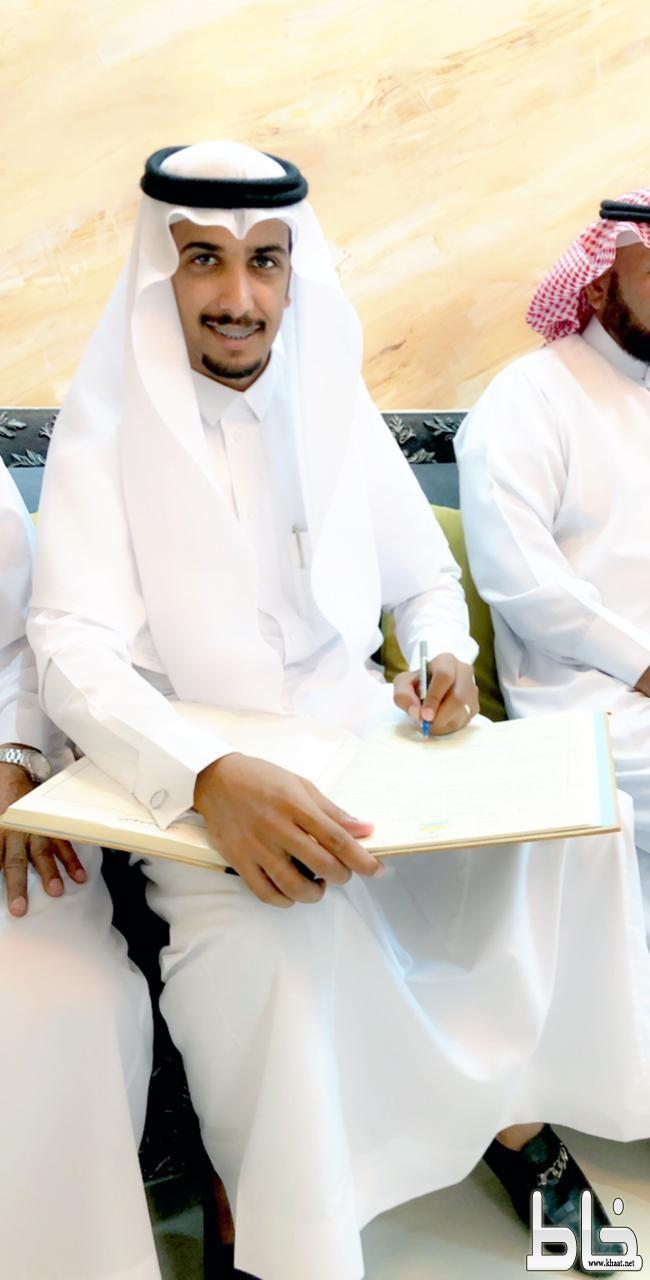 الاستاذ يحيى محمد فراج الشهري يحتفل بعقد قرانه