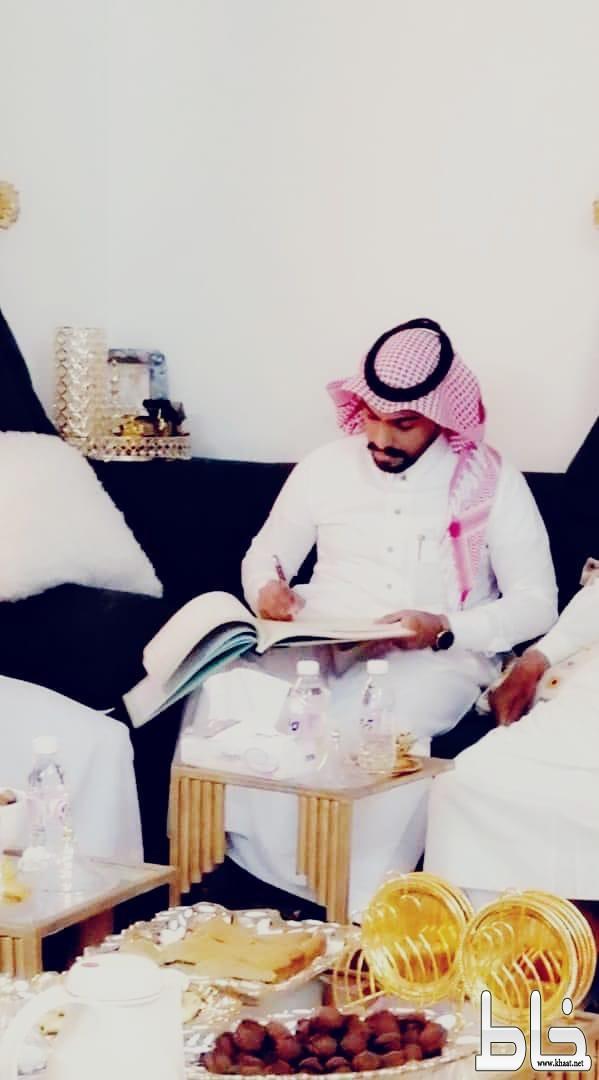عقد قران الشاب محمد حسن القرني