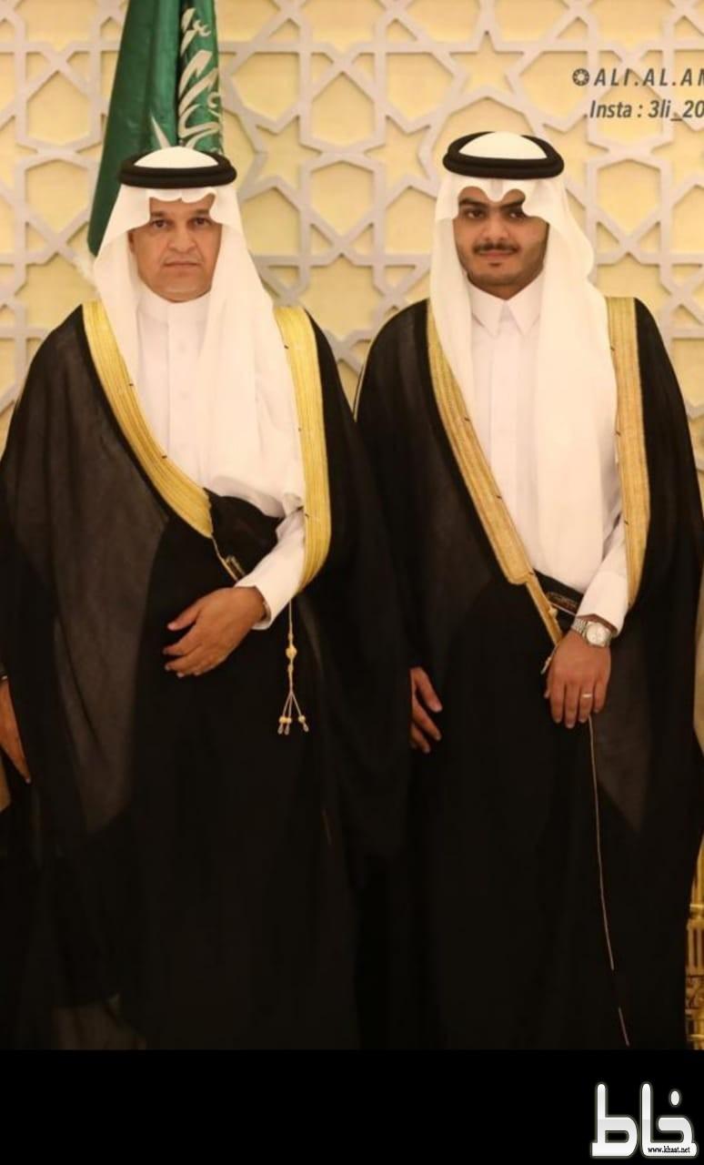 """الأستاذ """"حسن آل حجري """" يحتفل بزواج ابنه الدكتور"""" عوض """""""