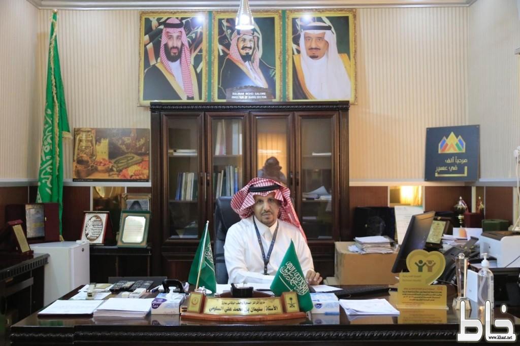 تمديد تكليف الاخصائي سليمان السلومي مديراً للقطاع الصحي ببارق