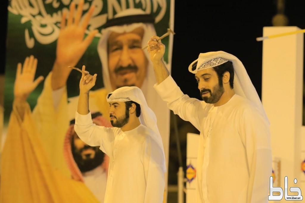 فرقة المطروشي الإماراتيه تشارك بأمسية ثقافية بمهرجان محايل