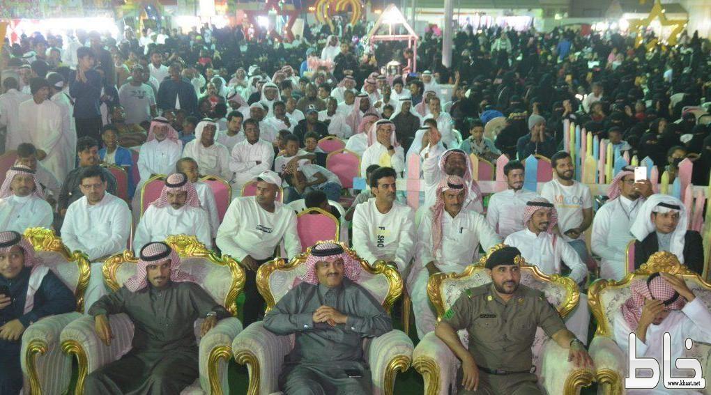 بحضور الآلاف شبح بيشة يشعل حماس الجماهير في مهرجان المجاردة(شتانا غير)