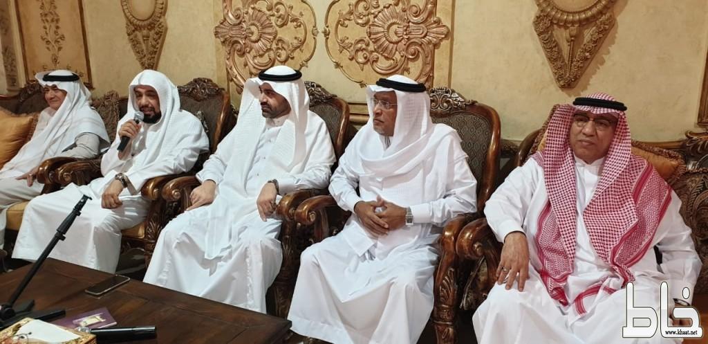 ديوانية ابراهيم امجد تحتفل بالزمزمي بمناسبة التمديد له من قبل وزير الحج