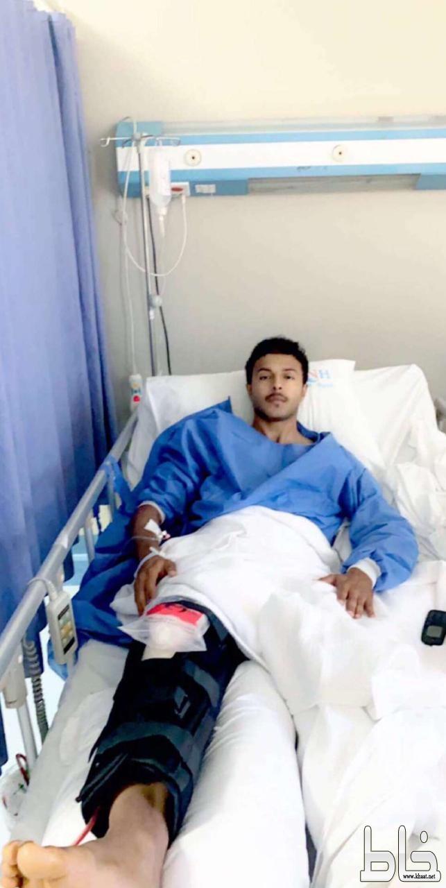 لاعب نادي الفاروق الكابتن حسن رفيع يجري عملية جراحية ناجحة