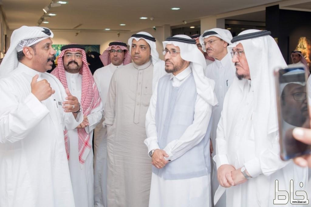 """مدير تعليم جدة المسعودي يدشن معرض """"مدرستي3"""""""