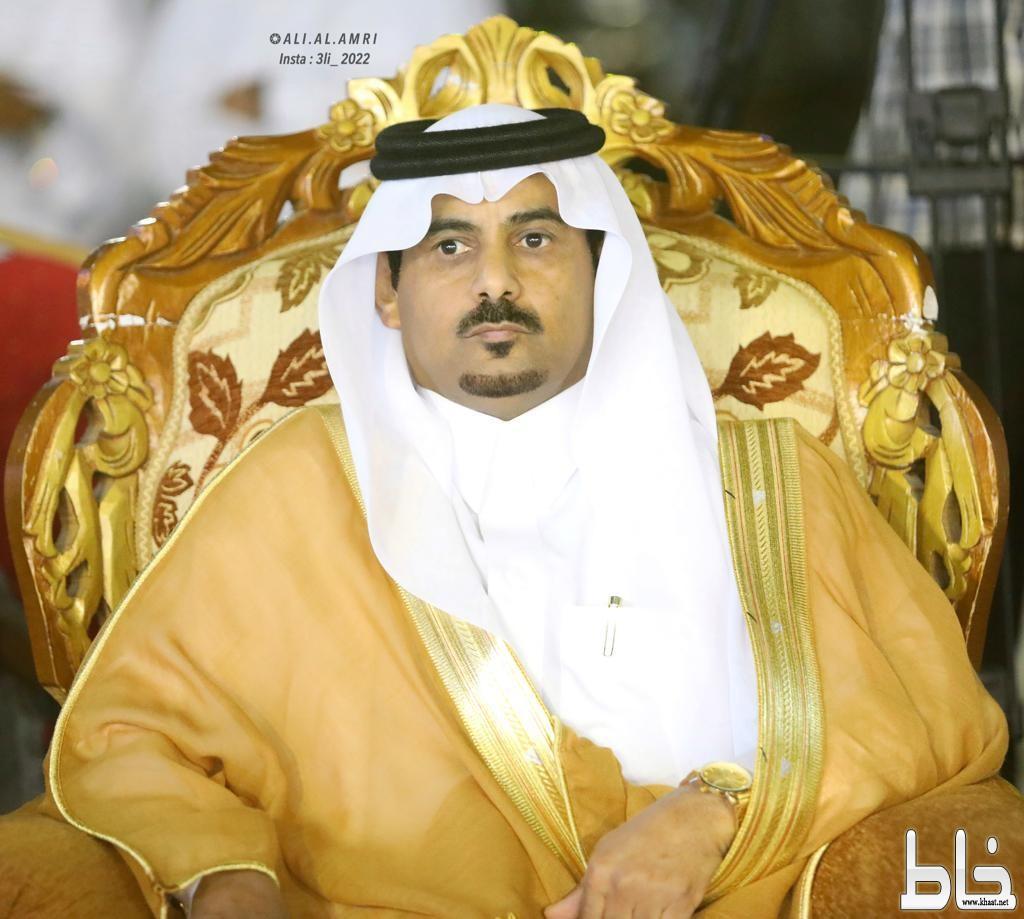 رئيس مركز خاط يعزي الشيخ فهد زارع في والدته
