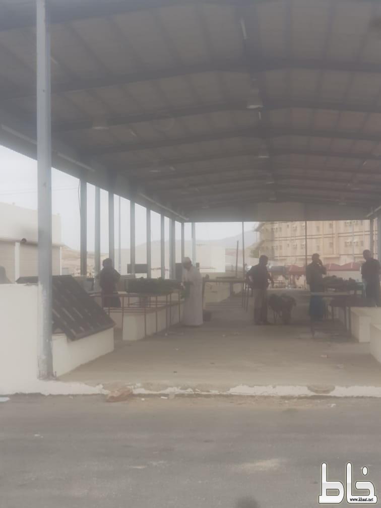 شاهد : عماله وافده يخالفون القرارات الاحترازية ويقومو بالبيع داخل السوق الشعبي بأحد ثربان