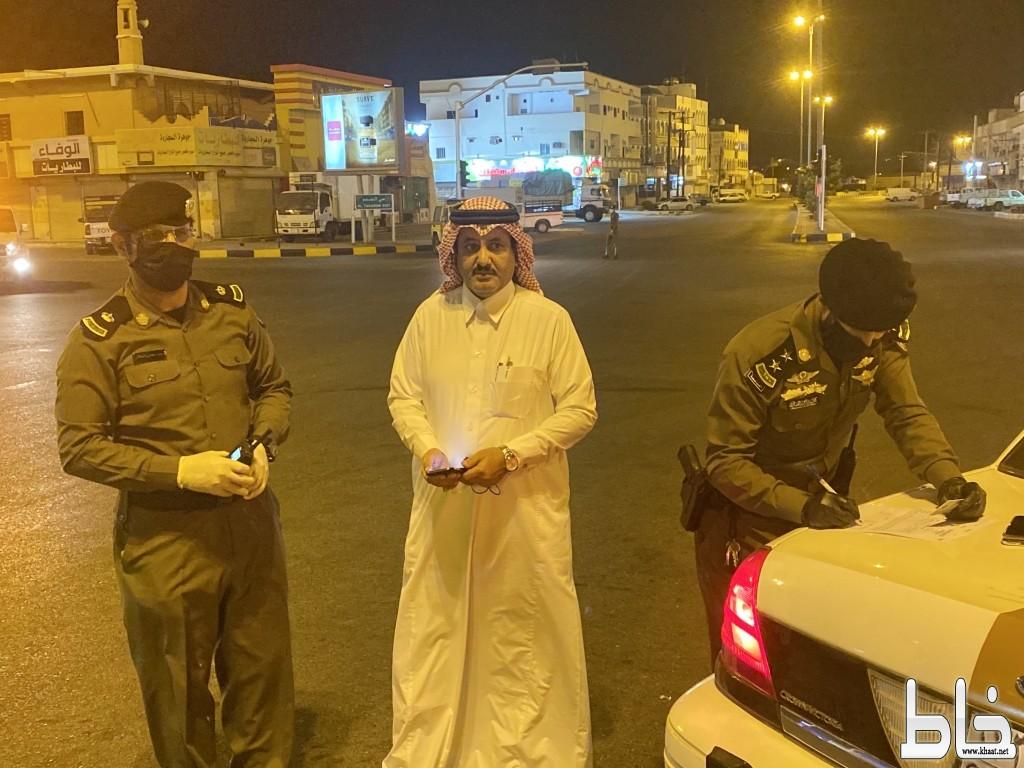 المرزوقي يتابع ميدانياً تفاعل المواطنين والمقيمين مع قرار منع التجول بالمجاردة ويشكر القطاعات الأمنية