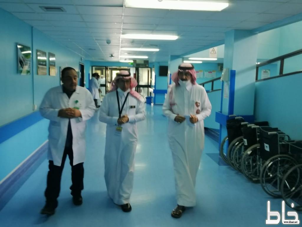 المرزوقي يتفقد مستشفى المجاردة العام ويقف على التجهيزات الاحترازية لكورونا