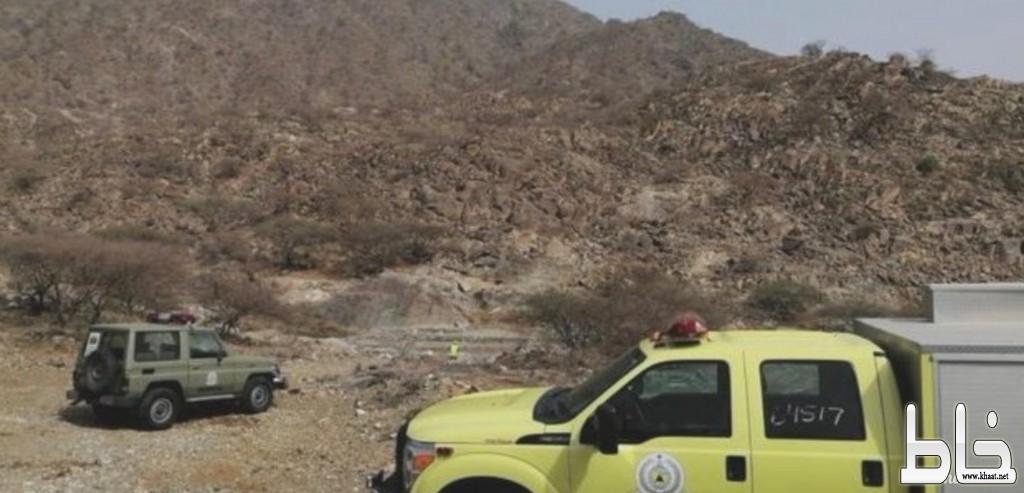 في المجاردة : إنقاذ شخص تعرض لإعياء  في رأس جبل واخماد حريق غرفة