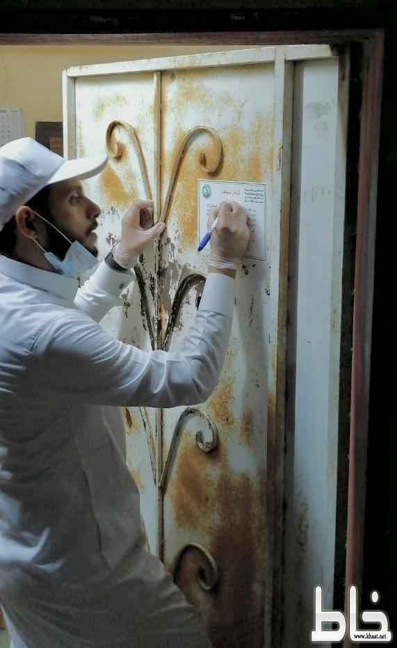 بلدية بارق تقف على ١٠٠ من مساكن العمال