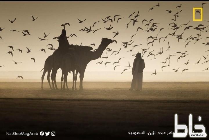 مجلة ناشيونال جيوغرافيك تنشر لقطة عامر الزين بنجران