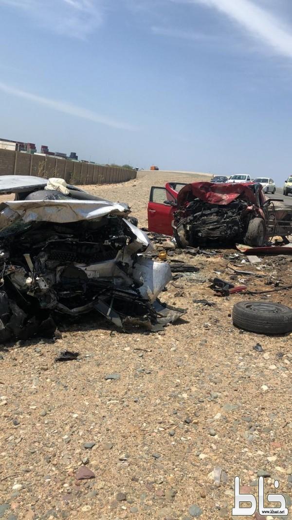 8 إصابات في حادث تصادم على عائلة  بجدة