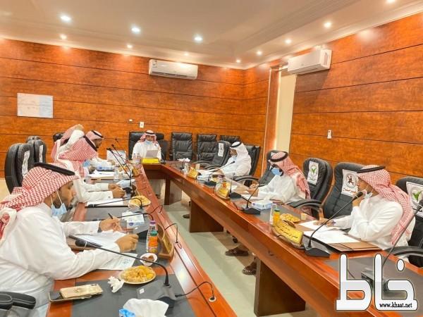 بلدي بارق يعقد جلسته الـ ٥٧ ويناقش إمكانية اعتماد النطاق العمراني للمحافظة