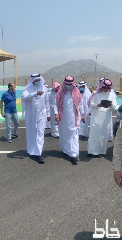 فرع جامعة الملك خالد بتهامة يدشن عدة مبادرات للإرتقاء بمرافق كليات تهامه