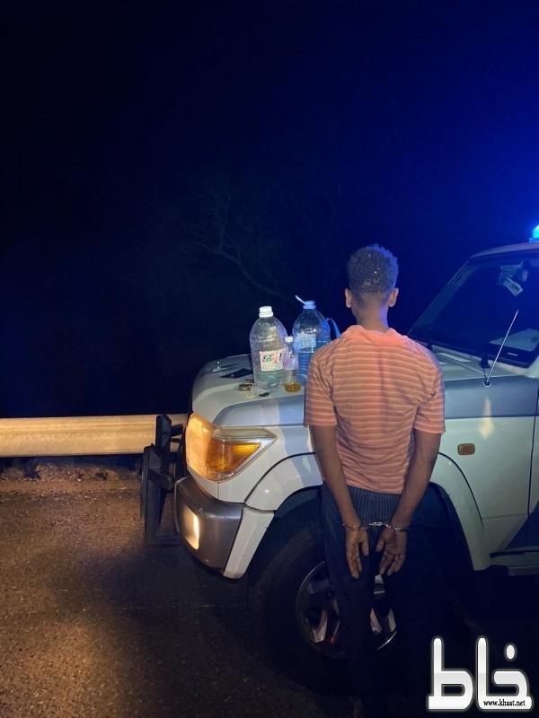 شرطة المجاردة تضبط مروج بمركز عبس بعد انتشار مقطع للترويج في وقت قياسي