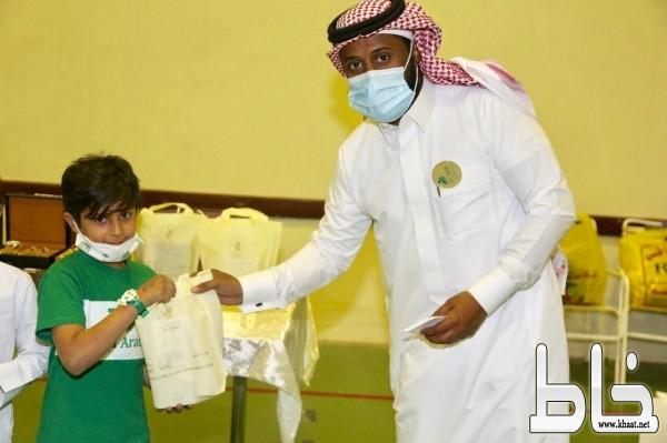 جمعية رفقاء لرعاية الأيتام تحتفي باليوم الوطني السعودي ٩٠