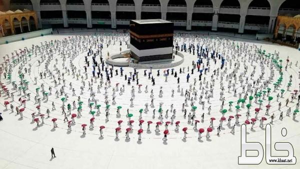 المسجد الحرام يستقبل غداً أول أفواج المعتمرين وَفْق الإجراءات الاحترازية