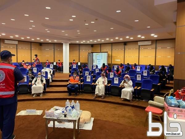 إنطلاق برنامج الأمير تركي بن طلال بن عبدالعزيز (كن مسعفا) بمحافظة بلقرن