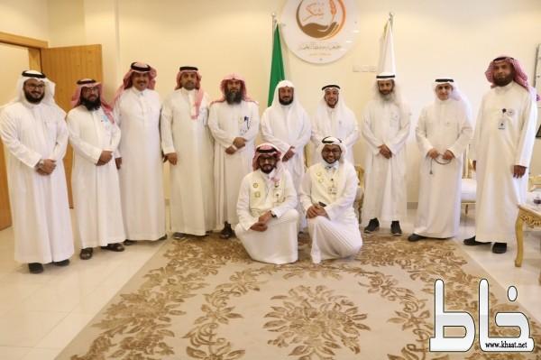وفد المجلس الفرعي التخصصي لجمعيات حفظ النعمة بالمملكة يقوم بزيارة لمقر جمعية حفظ النعمة بعسير ( شكر )