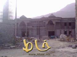 قرب الإنتهاء من مشروع اكبر مسجد بخاط يحوي على مغسلة للأموات