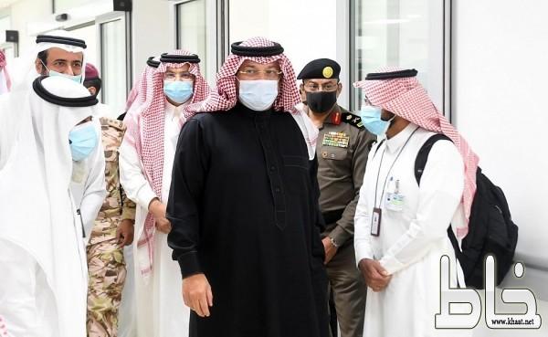 سمو أمير عسير يدشن 100 سرير عناية مركزة بمستشفى جامعة الملك خالد بالفرعاء