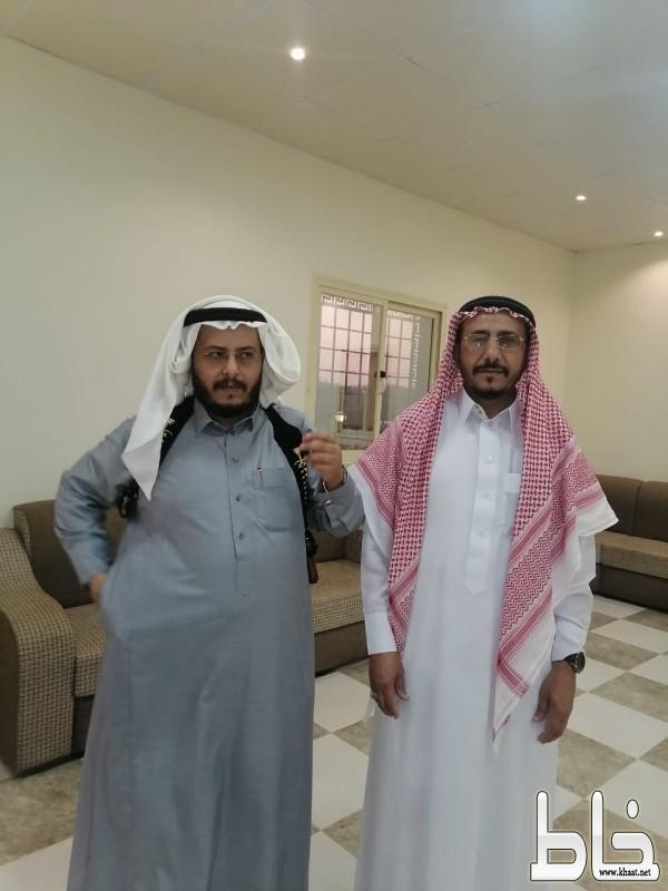 علي حسن العمري بحتفل بزواجه على كريمة عائض محمد الشهري