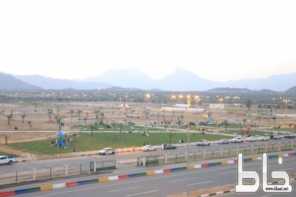بلدية بارق تواصل تطوير المحافظة بمشاريع تنموية