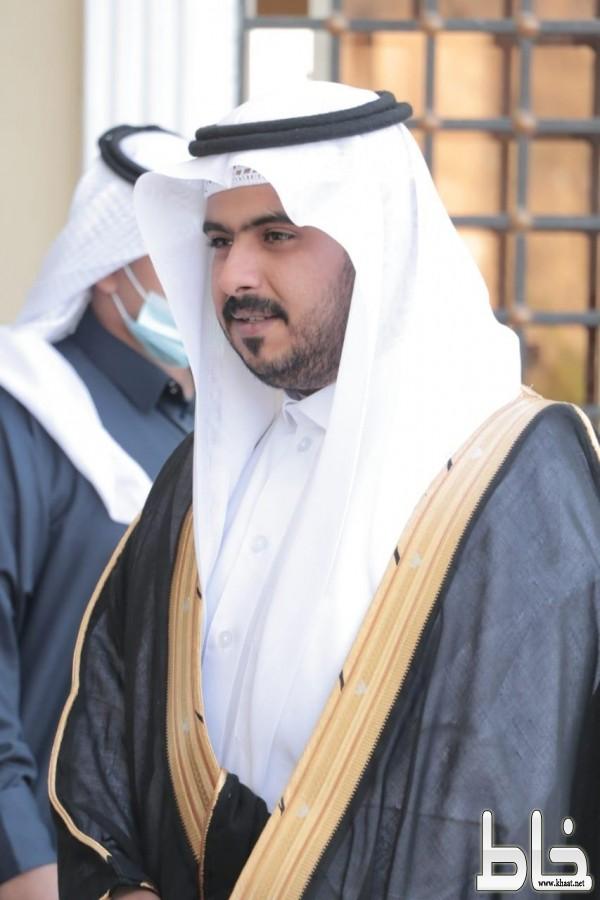 الشاب عبدالله بن ظافر بن على العمري عريساً
