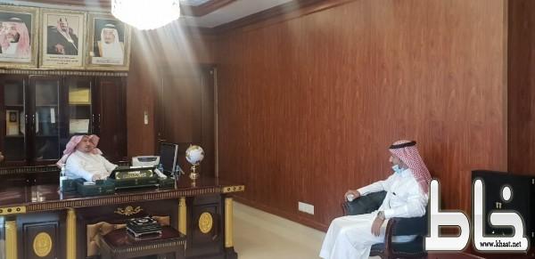محافظ المجاردة يستقبل مدير فرع وزارة الاسكان بعسير